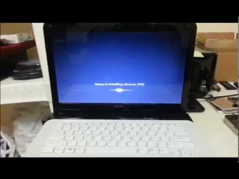 How to ║ Restore Reset a Sony Vaio to Factory Settings ║ Windows 7