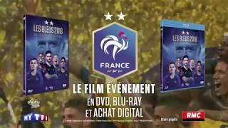 Pub Sortie DVD BLURAY Les Bleus 2018 l'Epopée Russe - Coupe du monde Russie