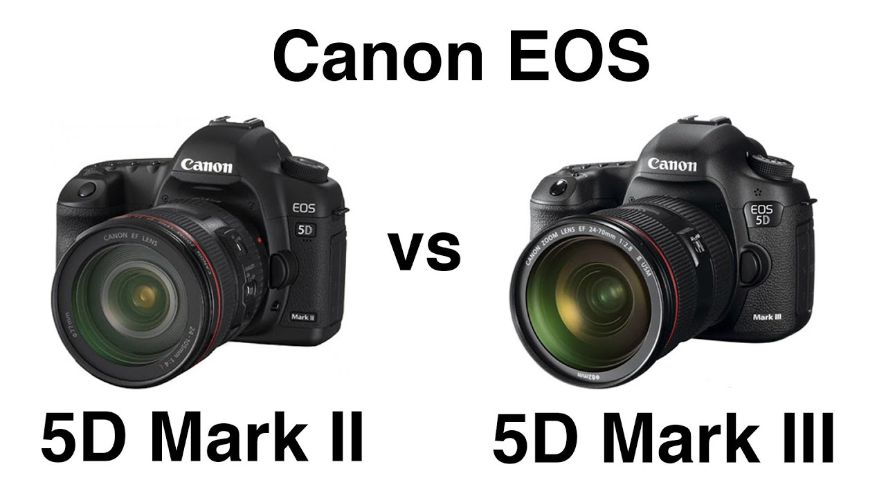 canon eos 5d mark ii vs 5d mark iii comparison youtube. Black Bedroom Furniture Sets. Home Design Ideas