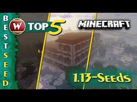 Top 5 - Woodland Mansion Seeds 2018 für Minecraft 1.13