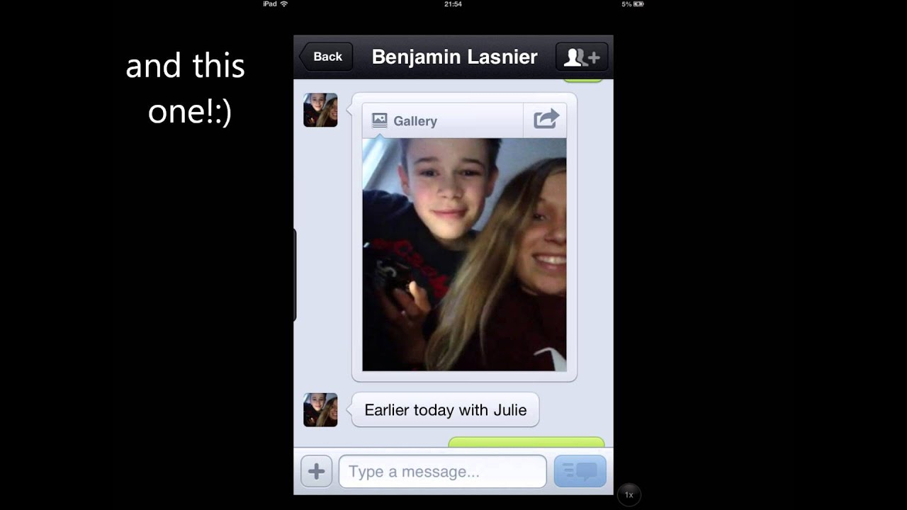 Skype with benjamin and julie youtube