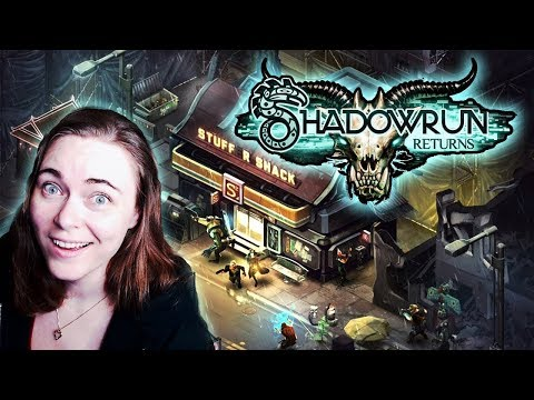 (Cheesefist Smash!) Shadowrun Returns (Blind) #1