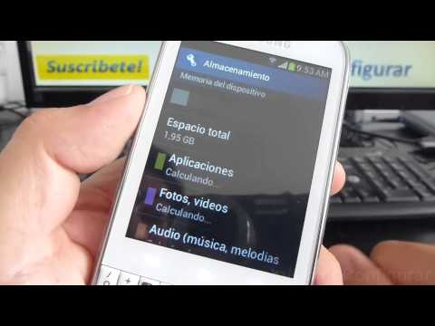 gt b5330 samsung galaxy chat características español Video Full HD