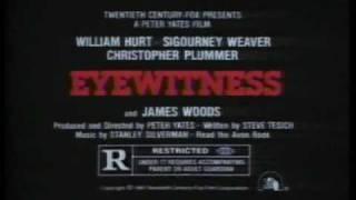 Eyewitness 1981 TV trailer