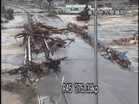 2011 Japan Tsunami: Caught on CCTV cameras