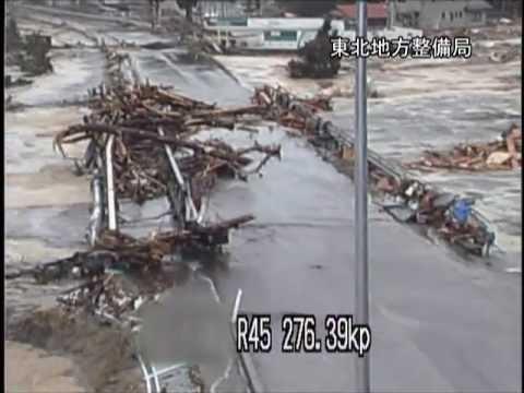2011 Japan Tsunami: Caught on CCTV cameras
