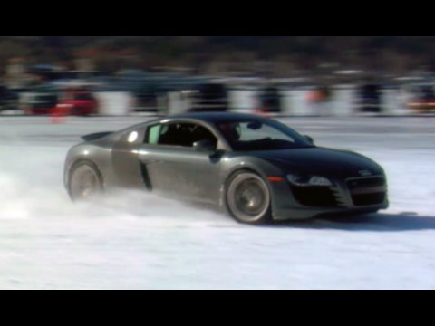 Audi R8 on Ice - Garage419