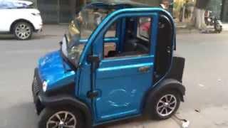 FB.com/ebike.vn | Ô tô điện SAKURA giá rẻ như xe máy tại Hà Nội | Xe Điện Giá Quá Rẻ Hơn Nơi Khác