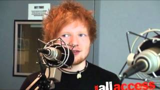 Ed Sheeran interview with Fox All Access
