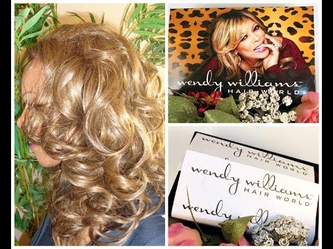 Wig Review - Monica Synthetic Lace Front Wig by Wendy Williams