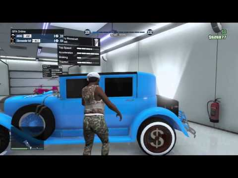 GTA 5 ONLINE: 1.10 FREE STOLEN CARS GLITCH (*STORE ANY CAR IN GARAGE*) (