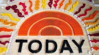 6,000 Dominoes on the TODAY SHOW!