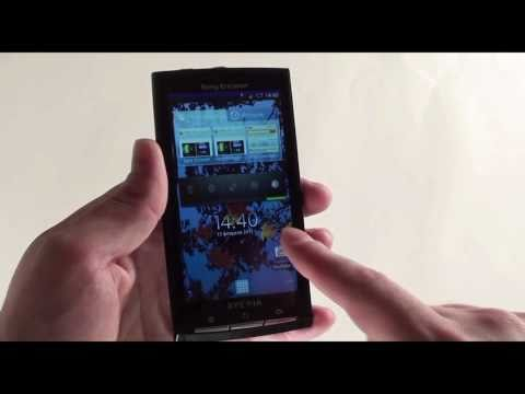   Sony Ericsson XPERIA X10  Video-shoper.ru
