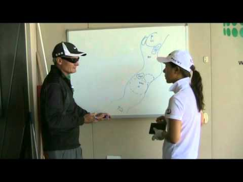 Hee Young Park Discusses Golf Strategy With Steve Bann