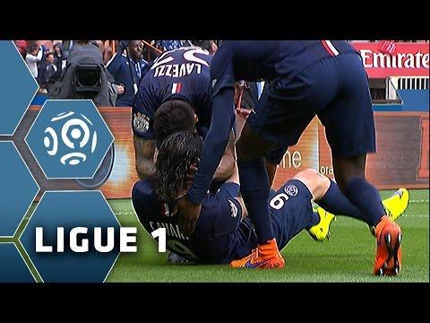 Goal Edinson CAVANI (4') / Paris Saint-Germain - LOSC Lille (6-1) - (PSG - LOSC) / 2014-15