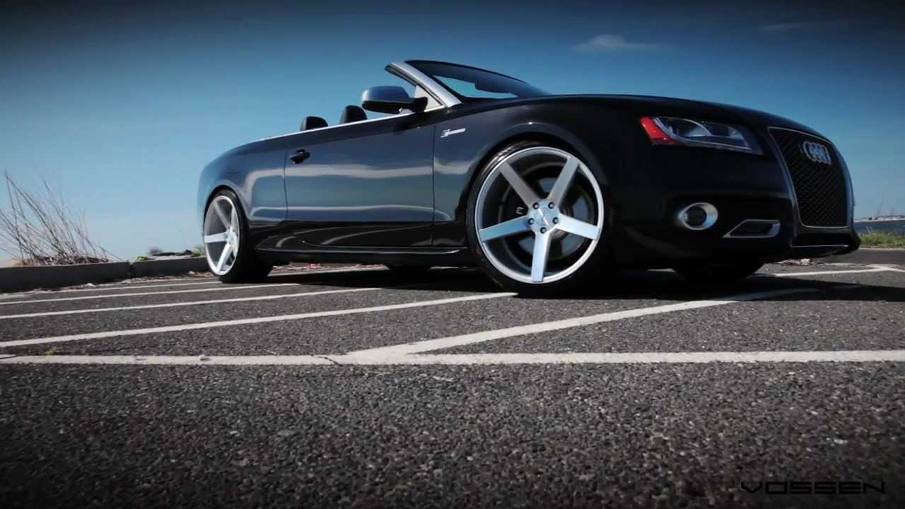 Audi S5 Convertible On 20 Quot Vossen Vvs Cv3 Concave Wheels