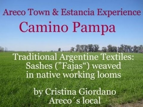 Traditional Argentine Textiles: Sashes (