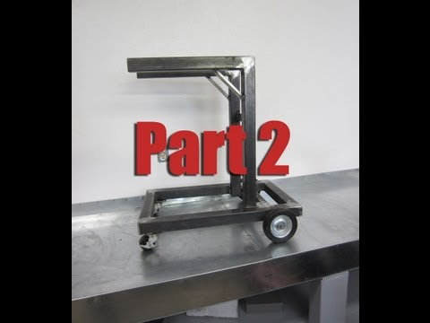 How To Build a Welding Cart For A Mig & Stick Welder Part 2/4