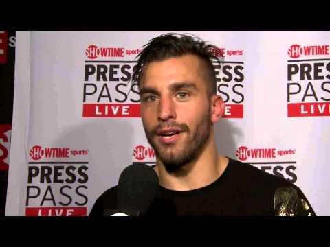 David Lemieux  PostFight Interview  SHOWTIME Boxing