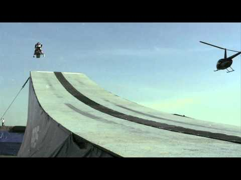 Levi LaVallee s World Record Snowmobile Jump - Red Bull New Year No Limits 2010