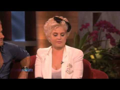 Kelly Osbourne tells about her drug addiction on Ellen