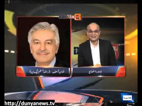 Dunya News at 8 With Malick - 13-05-2013