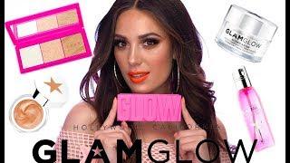 NEW GLAMGLOW GLOW POWDER!   Bronze Glow Makeup Tutorial   Victoria Lyn