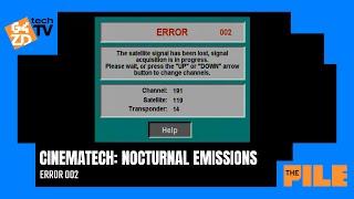 Cinematech: Nocturnal Emissions - ERROR 002