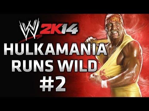 WWE 2K14 30 Years of Wrestlemania - Hulkamania Runs Wild Gameplay Walkthrough Part 2