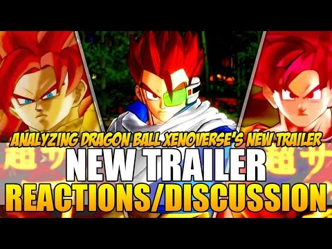 Dragon Ball Xenoverse - Trailer [New Trailer/Gameplay Reaction] SSJ4 Gogeta, God Goku, & Character Creation!