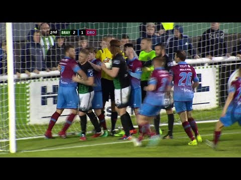 Bray Wanderers 2-1 Drogheda United - 18th August 2017