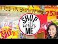 SHOP WITH ME AT BATH & BODY WORKS!! | BBW SEMI ANNUAL SALE 2017 | Page Danielle