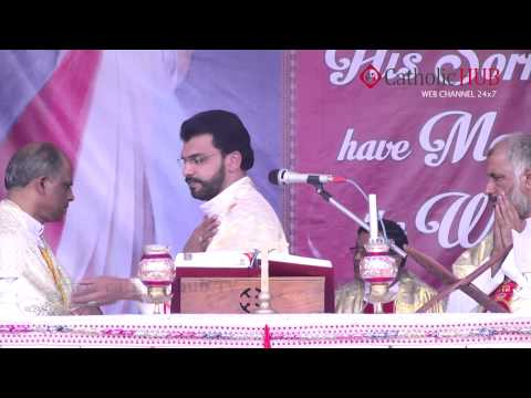 (The Great Feast Of Divine Mercy) Divine Mercy Centre Habsiguda,Hyd,AP,India,04-04-2014, Part 01 HD