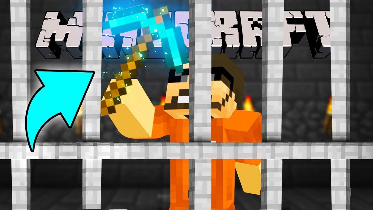 Minecraft: JAIL BREAK | MAKING THE ULTIMATE PICKAXE!! #6