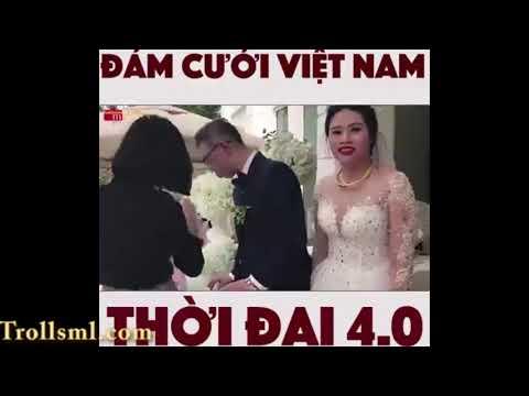 Đám cưới Việt Nam thời đại 4.0. Thật tiện ích ghê vậy đó