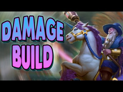 Smite: Guan Yu Damage Build - THE GUAN UNICORN LIVES!!!