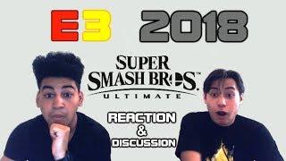 Super Smash Bros. Ultimate Reaction & Discussion - E3 2018 | Cube Command