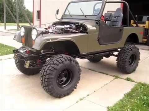 Jeep CJ-7 Rebuild - YouTube