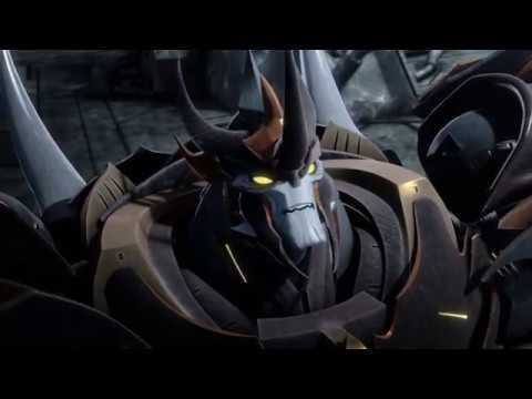 Transformers Prime Predaking vs Unicron