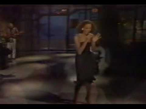 Whitney Houston - Saving all my love for you live Letterman