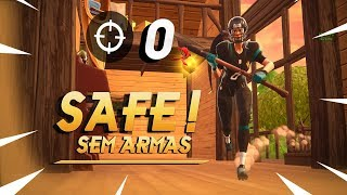 VENCEMOS SEM ARMAS!DESAFIO NO FORTNITE!