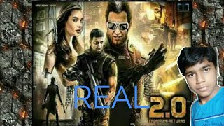 Robot 2.O trailer in hd|| which represent India's future||