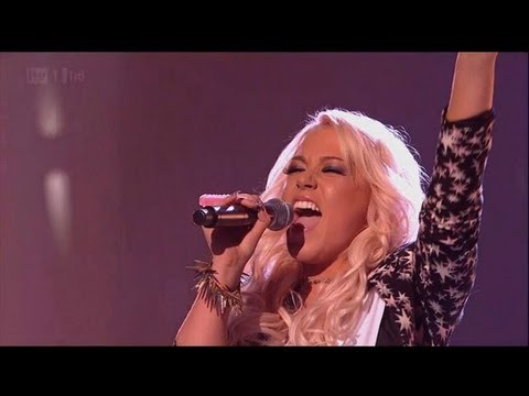 Amelia does Kelly... Clarkson not Rowland - The X Factor 2011 Live Show 8 (Full Version)