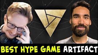 Lifecoach vs Dane — BEST HYPE series of Artifact $10,000 tournament