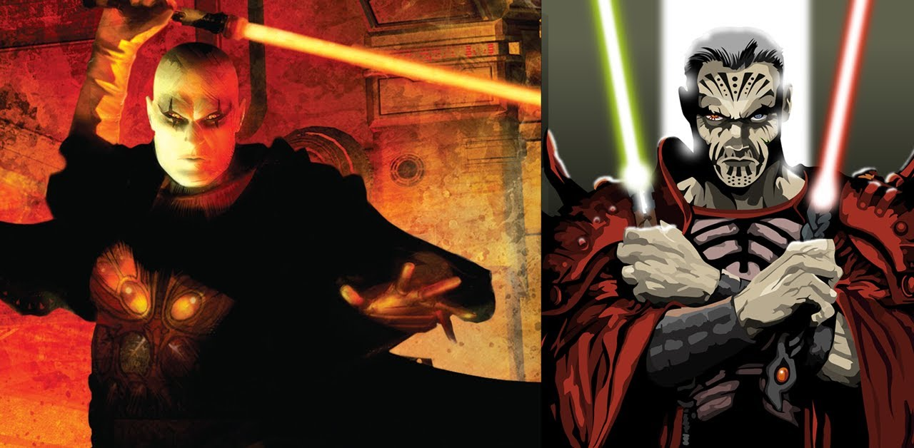 Darth Krayt vs Darth Bane Versus Series Darth Bane vs