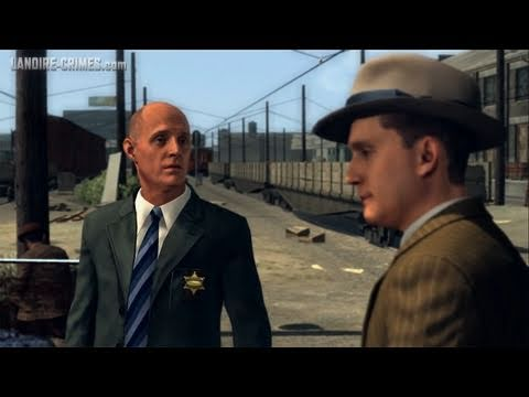 LA Noire - Walkthrough - Mission #5 - The Driver's Seat (5 Star)