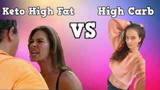 The Biggest Loser low carb keto diet | Reviewed by high carb vegan