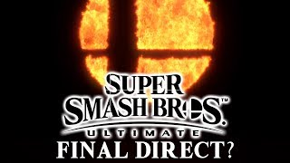 Final Smash Bros. Ultimate Direct in November?