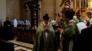 Pontifical Mass with Archbishop Burke in St. Peter