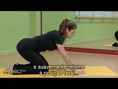 Como Fazer a Posio do Gato e a Posio da Vaca no Yoga Para Leigos